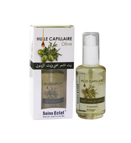 HUILE CAPILLAIRE SOINS ECLAT OLIVE 50ML