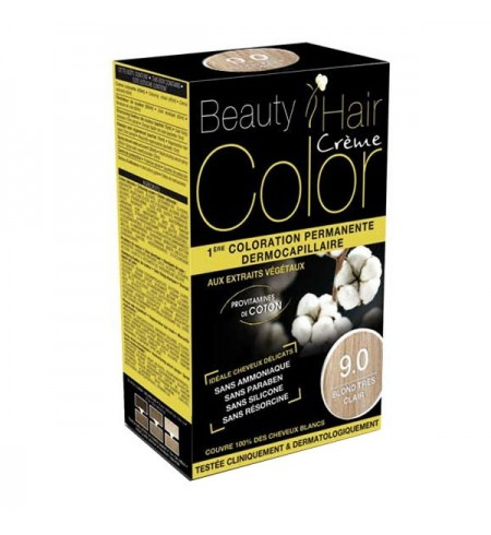 BEAUTY HAIR CREME COLOR BLOND TRES CLAIR