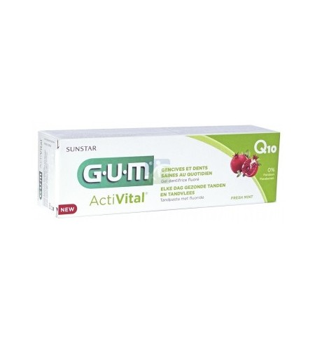 GUM DENTEFRICE ACTIVITAL 75ML