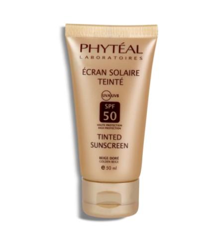 PHYTÉAL COFFRET ECRAN TEINTÉ BEIGE DORÉ SPF 50