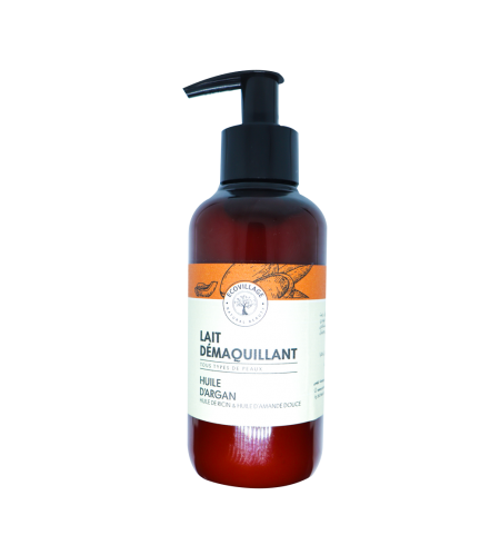 LAIT DÉMAQUILLANT ARGAN + RICIN (250ML)