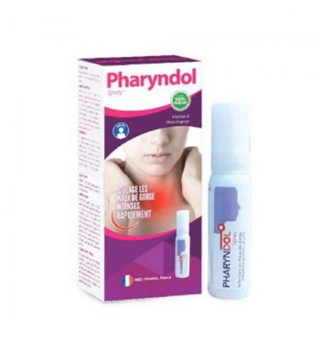 PHARYNDOL SPRAY MAUX DE GORGE ADULTE
