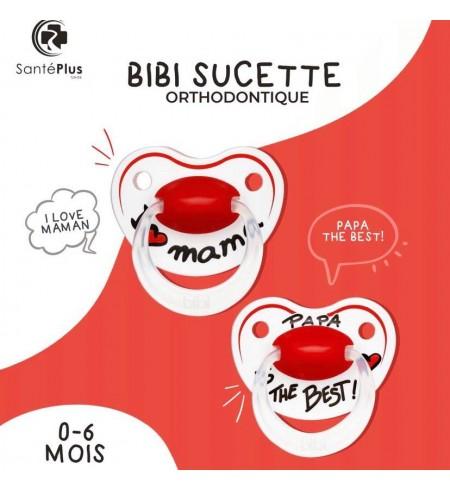 BIBI SUCETTE ORTHODONTIQUE 0-6 MOIS