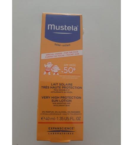 MUSTELA LAIT SOLAIRE 40ML+LAIT DE CORPS 50ML GRATUIT