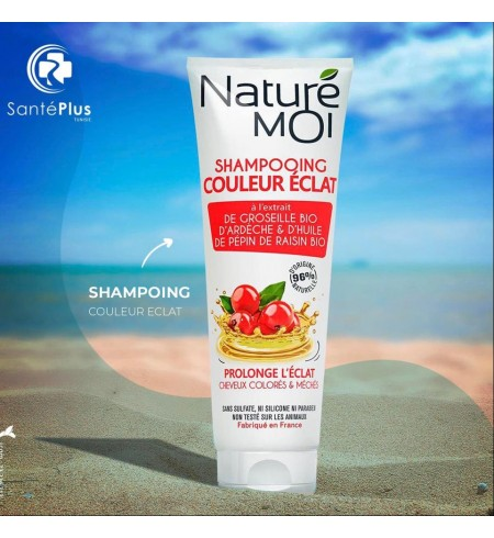 NATURE-MOI SHAMPOING COULEUR ECLAT 250ML
