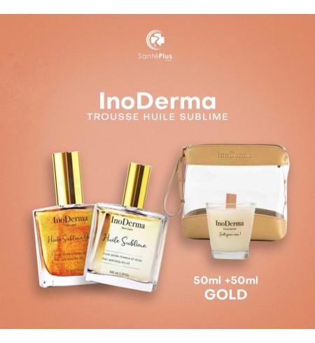 INODERMA TROUSSE HUILE SUBLIME 50ML +50ML GOLD
