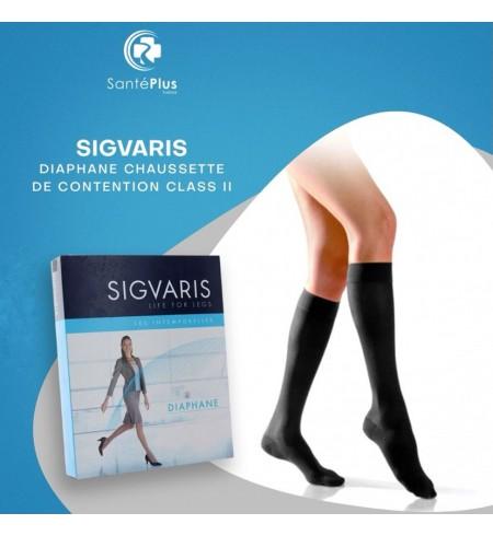 SIGVARIS DIAPHANE CHAUSSETTE DE CONTENTION CLASS II